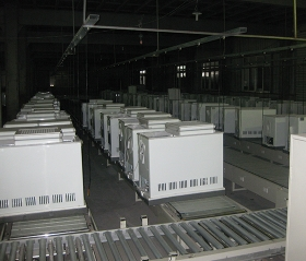 (达能集团)冰箱输送线