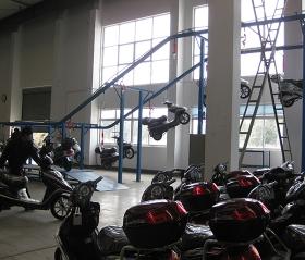 (无锡欧派)电动车成品输送悬挂线2