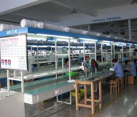 吴江(超人集团)双工作台面皮带线
