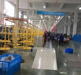 北京豪华款电动车装配线